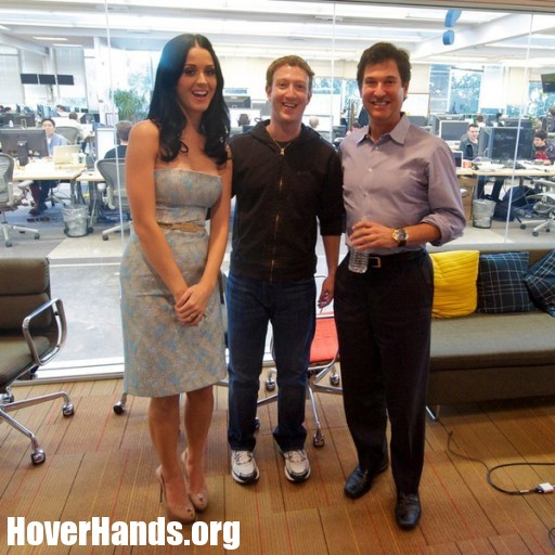 Social Network Hover Hands