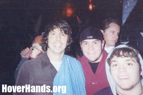 Dave Grohl Hover Hand